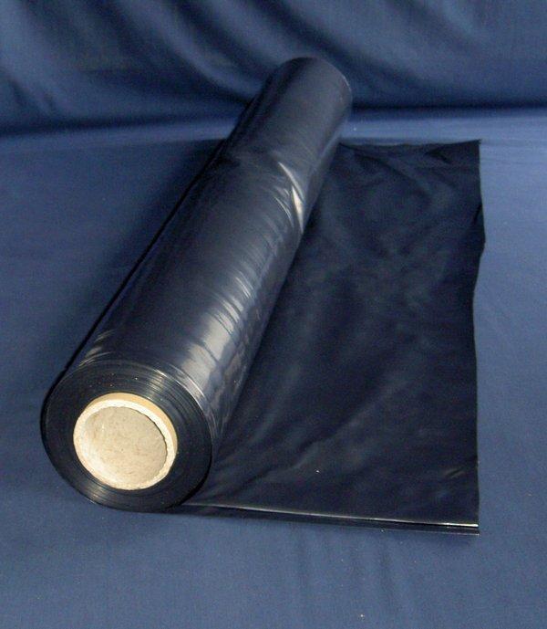 Baufolie LDPE - schwarz opak