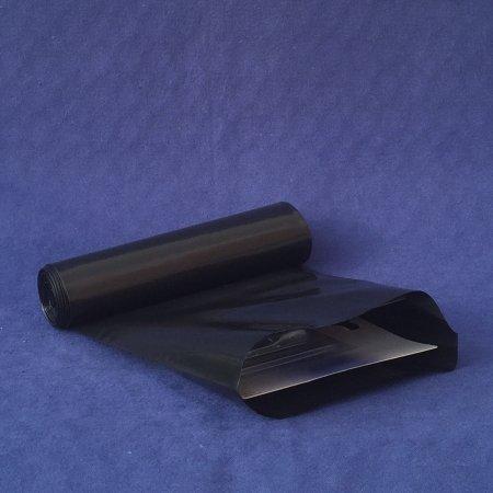 Schlauchfolie LDPE - opak schwarz