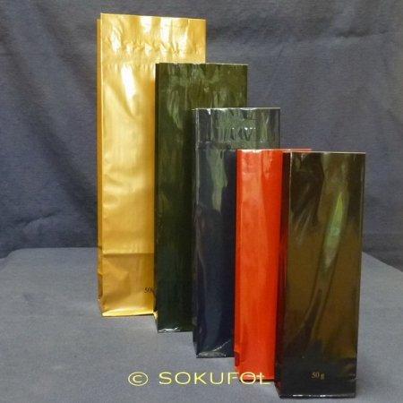 Blockbodenbeutel OPP 3-Lagig farbig