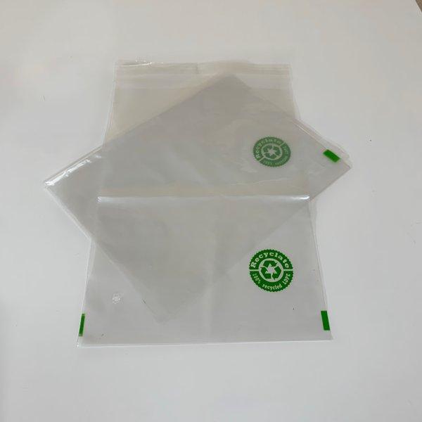 Adhäsionsverschluss-beutel - Recyclat